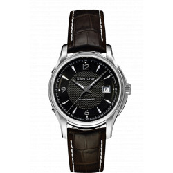 Hamilton jazzmaster viewmatic automatique bracelet cuir marron