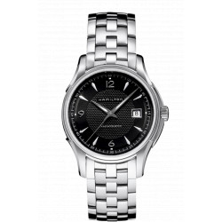 Hamilton jazzmaster viewmatic noir automatique bracelet acier