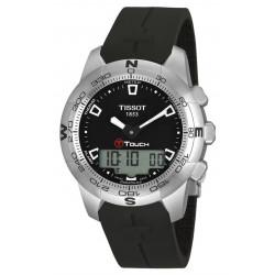 Tissot T-Touch II expert bracelet caoutchouc noir