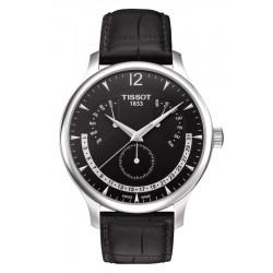 Tissot Tradition quartz homme perpetual calendar bracelet cuir