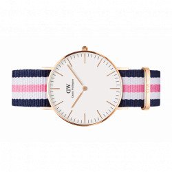 SOUTHAMPTON classic plaqué or rose bracelet nato