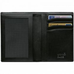 Montblanc Meisterstück portefeuille à la française 4 CC et poche ajourée