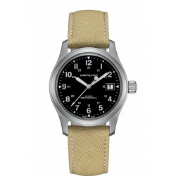 Hamilton Khaki Field Mechanical bracelet fauve