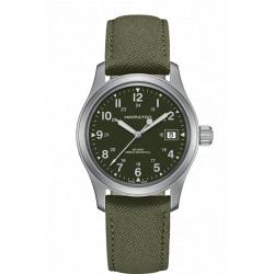 Hamilton Khaki Field mécanique bracelet vert