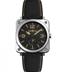 Bell&Ross Aviation BRS 39 mm acier Heritage