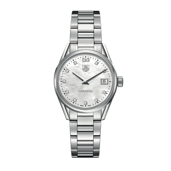 TagHeuer Carrera femme 28 mm calibre 9 automatique calibre 9 diamants