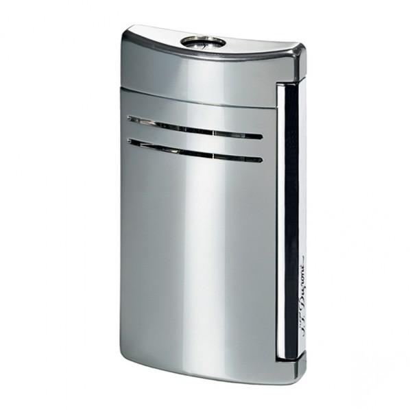 Dupont briquet maxijet laque gris chrome
