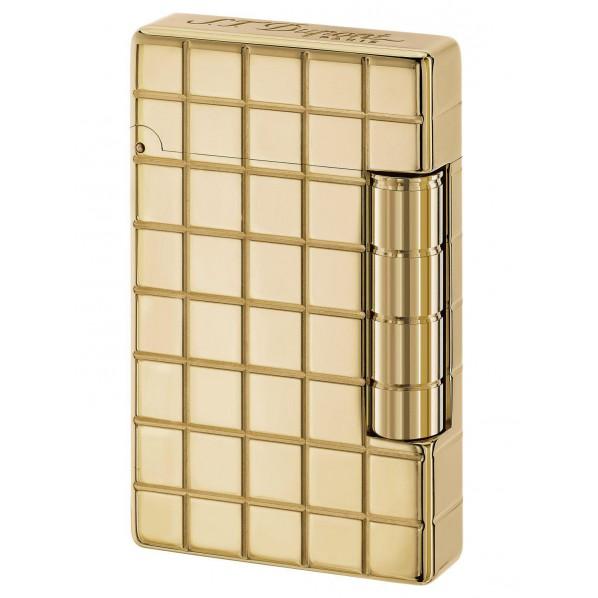 Dupont briquet Initial finition bronze doré