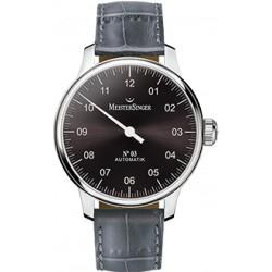 Meistersinger n°03 automatique bracelet cuir ref AM907