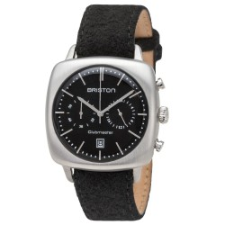 Clubmaster Vintage Acier chronographe cadran noir