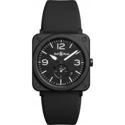 Bell&Ross Aviation BRS 39 mm quartz céramique mat