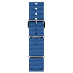 Bracelet nato briston nylon bleu ciel